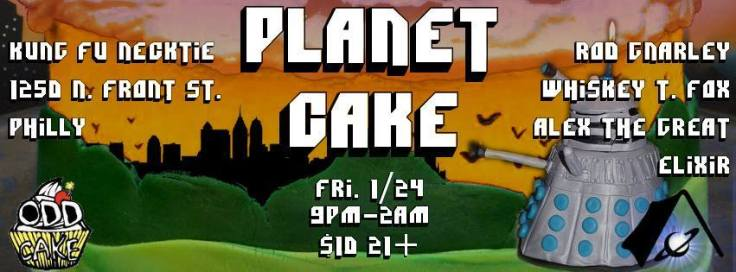 OddCake and Spacecamp present Planet Cake