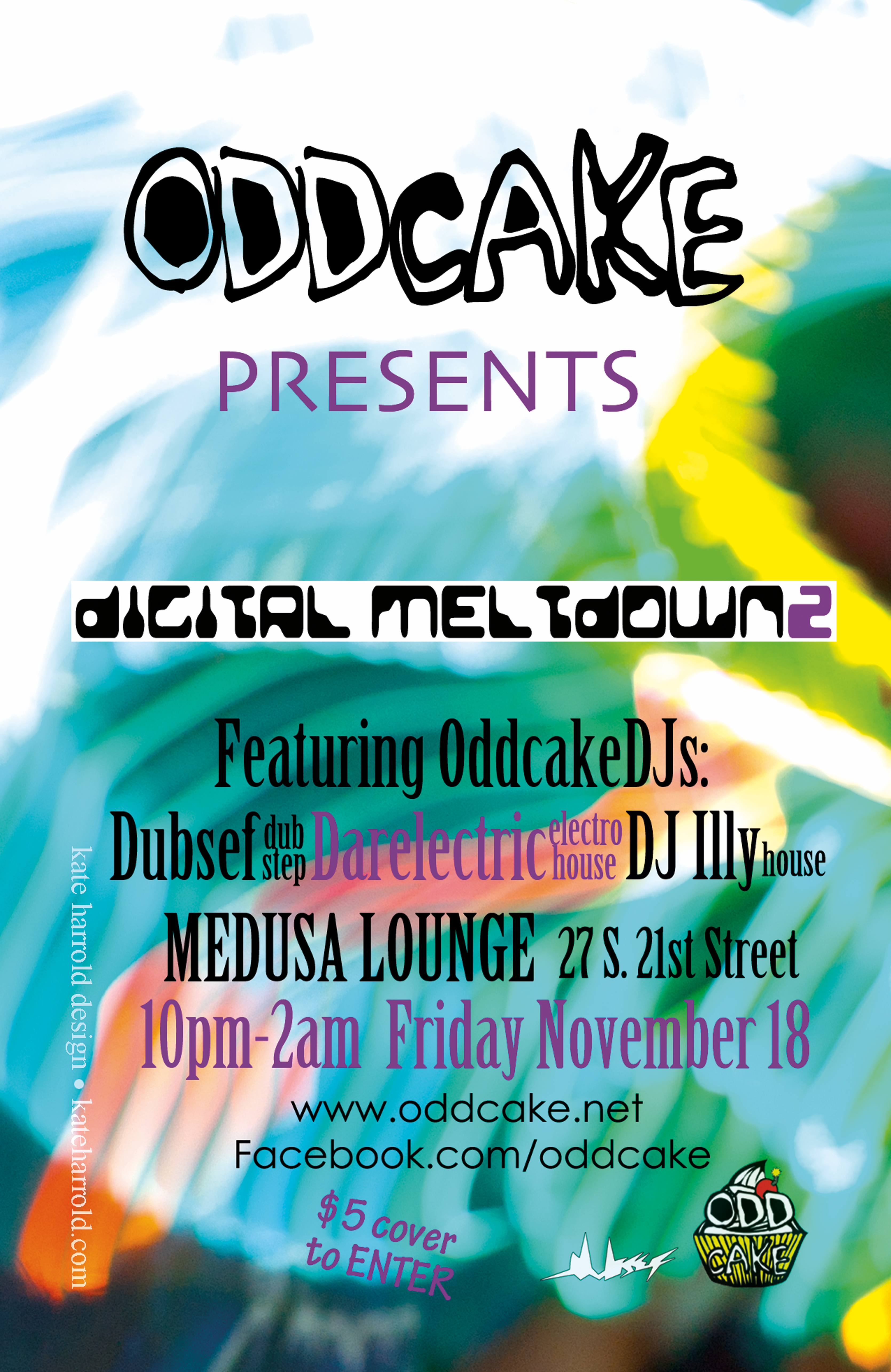OddCake Presents - Digital Meltdown 2 (Poster)
