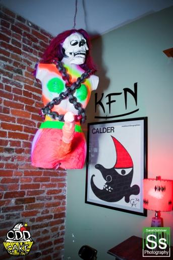OddCake Presents - Halloween is October 31st (2012) @ KungFu Necktie, Philly 0067