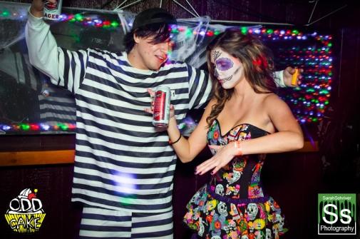 OddCake Presents - Halloween is October 31st (2012) @ KungFu Necktie, Philly 0098