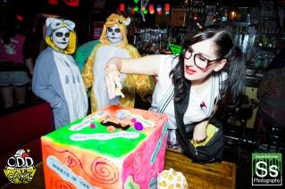 OddCake Presents - Halloween is October 31st (2012) @ KungFu Necktie, Philly 0108