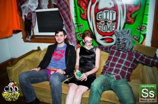 OddCake Presents - Halloween is October 31st (2012) @ KungFu Necktie, Philly 0114