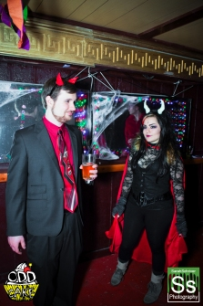 OddCake Presents - Halloween is October 31st (2012) @ KungFu Necktie, Philly 0142