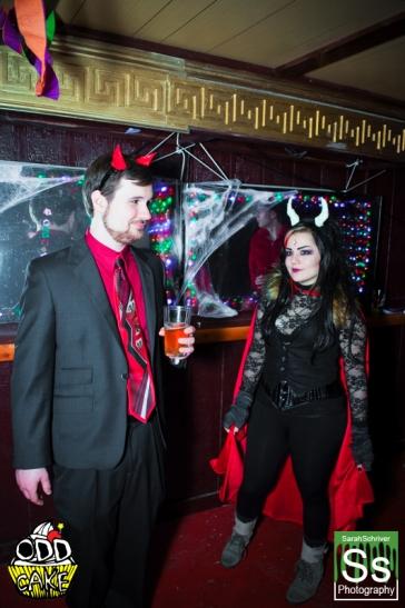 OddCake Presents - Halloween is October 31st (2012) @ KungFu Necktie, Philly 0142