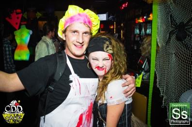 OddCake Presents - Halloween is October 31st (2012) @ KungFu Necktie, Philly 0151