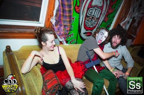OddCake Presents - Halloween is October 31st (2012) @ KungFu Necktie, Philly 0162