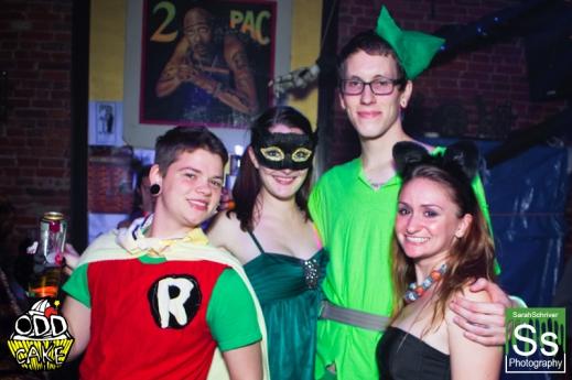OddCake Presents - Halloween is October 31st (2012) @ KungFu Necktie, Philly 0172