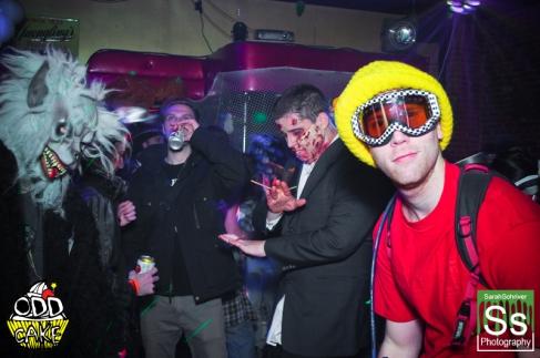 OddCake Presents - Halloween is October 31st (2012) @ KungFu Necktie, Philly 0186