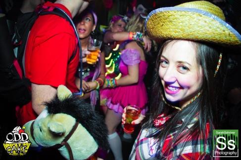 OddCake Presents - Halloween is October 31st (2012) @ KungFu Necktie, Philly 0191