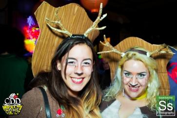 OddCake Presents - Halloween is October 31st (2012) @ KungFu Necktie, Philly 0266