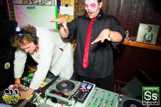 OddCake Presents - Halloween is October 31st (2012) @ KungFu Necktie, Philly 0316