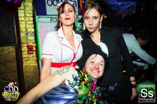 OddCake Presents - Halloween is October 31st (2012) @ KungFu Necktie, Philly 0324