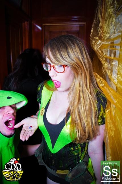 OddCake Presents - Halloween is October 31st (2012) @ KungFu Necktie, Philly 0329