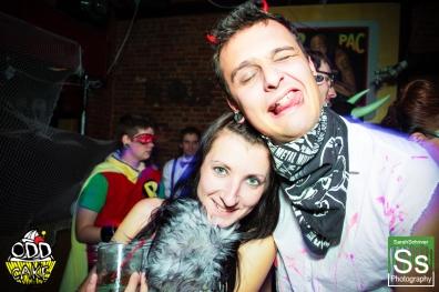 OddCake Presents - Halloween is October 31st (2012) @ KungFu Necktie, Philly 0345