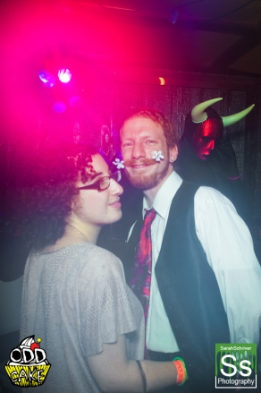 OddCake Presents - Halloween is October 31st (2012) @ KungFu Necktie, Philly 0366