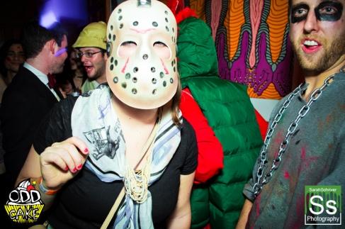 OddCake Presents - Halloween is October 31st (2012) @ KungFu Necktie, Philly 0395