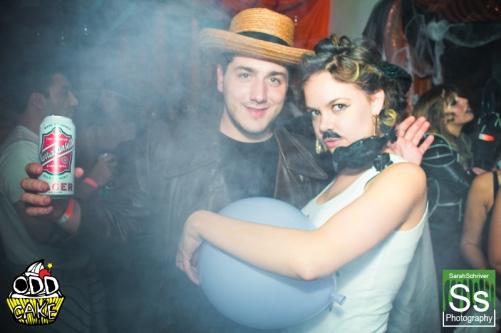OddCake Presents - Halloween is October 31st (2012) @ KungFu Necktie, Philly 0401