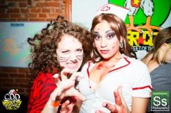 OddCake Presents - Halloween is October 31st (2012) @ KungFu Necktie, Philly 0404