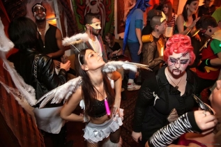 OddCake Presents - Halloween is October 31st (2012) @ KungFu Necktie, Philly - Photography by Red Lite photos_37