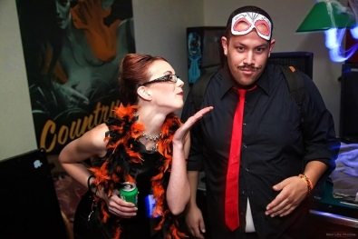 OddCake Presents - Halloween is October 31st (2012) @ KungFu Necktie, Philly - Photography by Red Lite photos_57