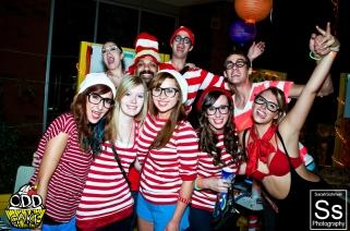 OddCake Presents - The Original Hipster, A Wheres Waldo Costume Party 0100