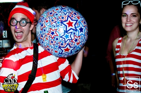 OddCake Presents - The Original Hipster, A Wheres Waldo Costume Party 0127